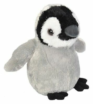 New Wild Republic Hug'ems Penguin Chick Plush Cuddly Soft Toy Bird Teddy • 7.49£