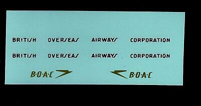 Dinky 283 Boac Coach Transfers/decals • 2.25£