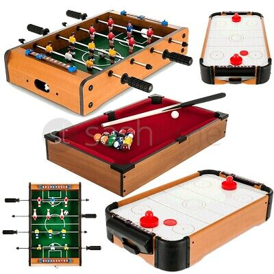 Table Top Football/Pool/Air Hockey Foosball Soccer Family Game Toy Xmas Gift New • 211.95£