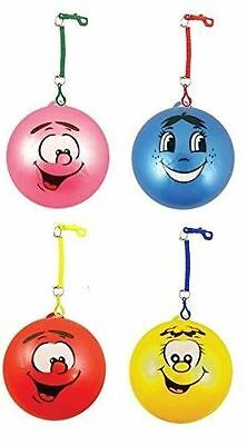 1 24 Inflatable Smiley Face Fruity Smelly Ball With Hook Keyring Kids Toy Party • 21.99£