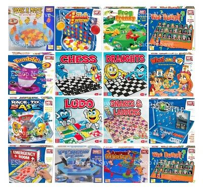 Traditional Classic Modern Full Size Family Childrens Kids Board Games Boardgame • 7.99£
