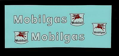Dinky 941 Foden Mobilgas Tanker Transfers/decals • 4£