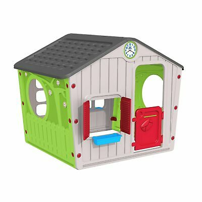 Chad Valley Indoor/Outdoor Plastic Wendy House - Multicoloured • 85£