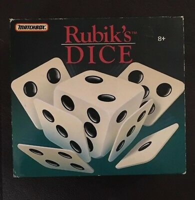 Rubik's Dice - Puzzle Game By Matchbox Boxed • 8.99£