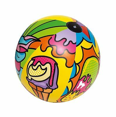 Bestway Inflatable Beach Ball With Pop Art Design Swimming Pool 36  (91cm) • 6.99£