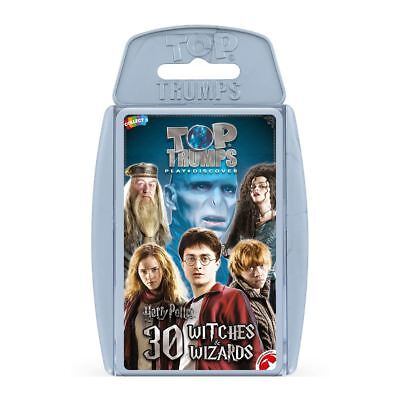 Harry Potter  - 30 Witches And Wizards Top Trumps • 4.99£