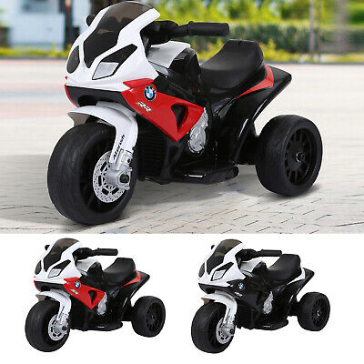 Electric Kids Ride On Motorcycle BMW Liscensed W/ Headlights Music Play Bike 6V • 56.99£