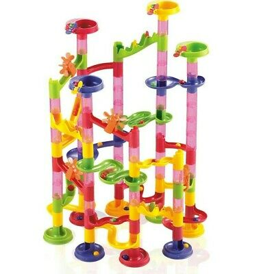 105pc Marble Run Race Set Construction Building Blocks Kids Toy Game Track Gift • 10.99£