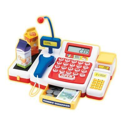 Simba Supermarket Cash Register With Scanner Cash Register Toy Plastic 104525700 • 31£