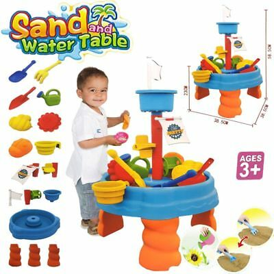 Sand And Water Table Watering Can & Spade & More Kids Garden Sandpit Toy Set 316 • 10.95£