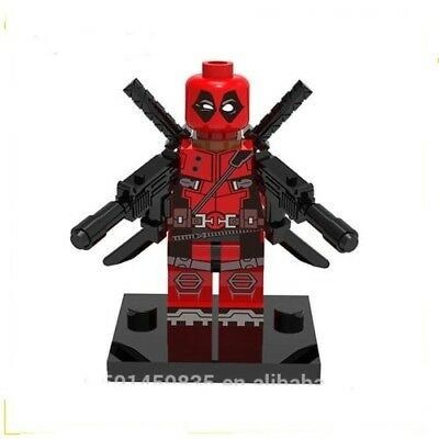 Superheroes Custom Mini Figures - Deadpool • 2.99£