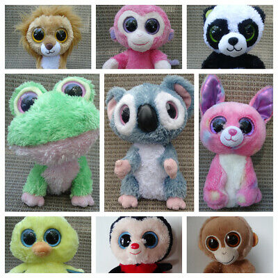 Ty Beanie BOO 6  Or 9 , Solid Eyes, Blue Tags U PICK: POSY, WILD, NIBBLES, REBEL • 17.38£
