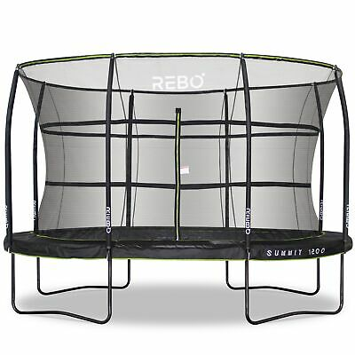 Rebo Summit Oval Trampoline And Safety Enclosure  • 431.96£