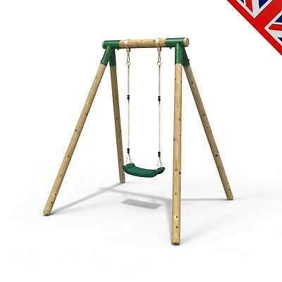 Rebo Junior Range Wooden Garden Swing Set - Solar • 134.95£