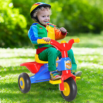 Kids Ride On Trike Baby Children Tricycle Stroller Glider Bike 18 To 36 Months • 23.99£