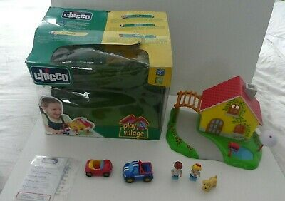 Chicco Play Village, Car, Figures - Boxed - Bundle  - Made In Italy • 25.95£