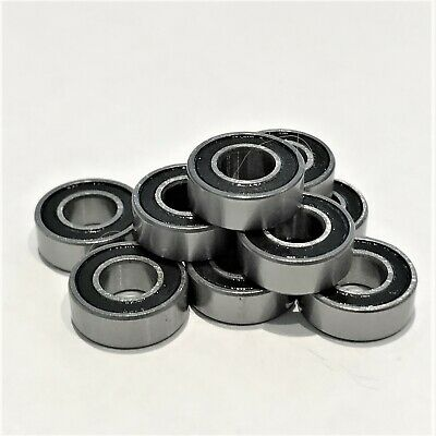 5x11x4mm  Ball Bearing Rubber Sealed 10 Pack - Fits Tamiya TT02 - TT-02 BB2  • 5.99£