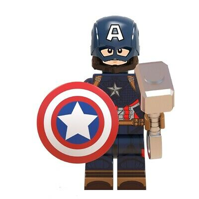Avengers Endgame Custom Mini Figures - Captain America • 2.99£