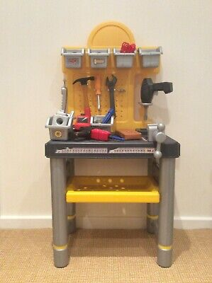 Kids Workbench Smoby Diy Childrens Tool Set. Very Good Condition • 10£