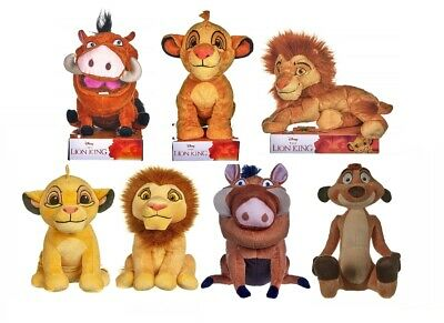 New Official Disney The Lion King Soft Plush Toys 10  12  Simba Pumba Timon Nala • 8.99£