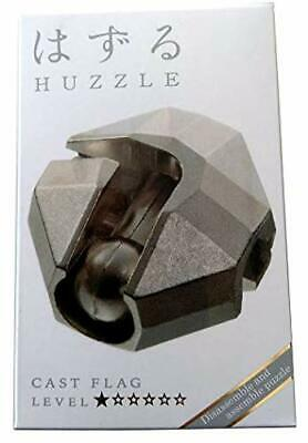 Hanayama Huzzle Cast Puzzle - Flag - Difficulty Rating 1 - FROM UK • 11.50£