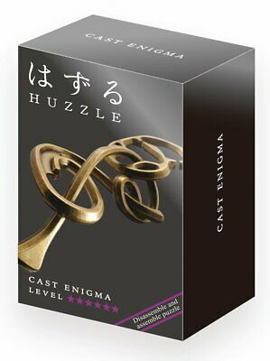Hanayama Huzzle Cast Puzzle - Enigma - Difficulty Rating 6 - FROM UK • 13.95£
