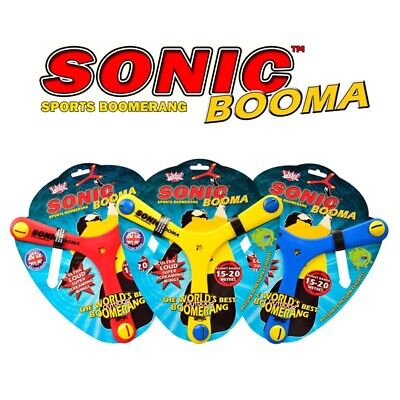 3 Pack - Wicked Sonic Booma - The Worlds Best Outdoor Boomerang • 17.99£