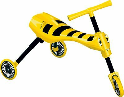 Scuttlebug Bumblebee 43cm Ride On Chrildren's Trike - Yellow And Black • 20£
