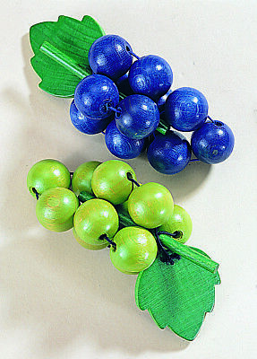 Grapes Blue And Green Wood Grapes Wooden Toy Shop Haba 1375 • 12.14£