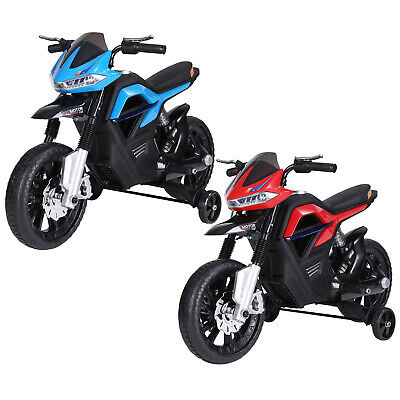 6V Ride On Motorcycle Battery Powered Forward Brake Electric Toy Vehicle • 78.99£