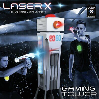 Laser X 9 Built-in Games Gaming Tower • 9.99£