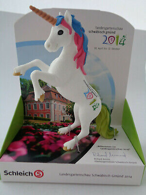 Schleich 82880 Unicorn/Special Edition/Horticultural Show Gmünd 2014/New/ Ovp • 22.76£