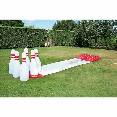 Chad Valley Slide And Splash PVC Inflatable Bowling - Indoor/Outdoor - 5+ Years • 45£