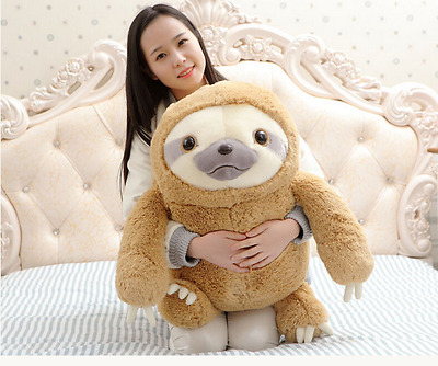 New Cute Giant Sloth Stuffed Plush Animal Doll  Soft Toys Pillow Cushion Gifts • 17.99£