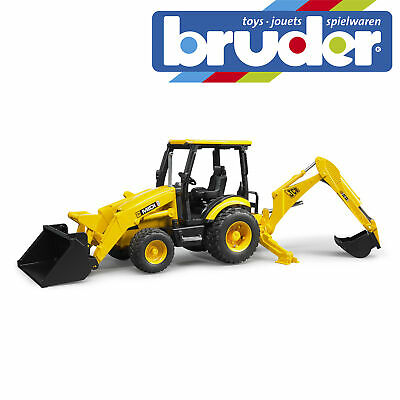 Bruder JCB MIDI CX Backhoe Loader Construction Digger Toy Kids Model Scale 1:16 • 25.99£
