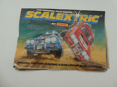 Scalextric  25th Edition Catalogue - Leaflet - Brochure  • 9.50£