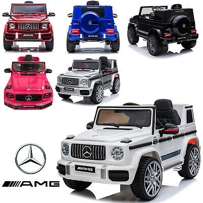 Kids New Licensed Mercedes Benz G63 AMG 12V Battery Electric Ride On Car  • 179.99£