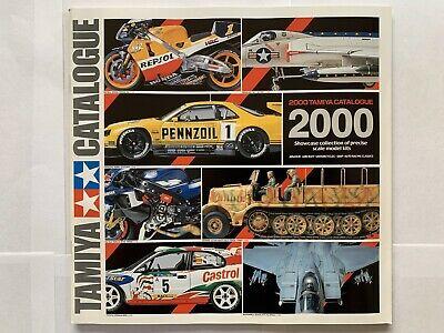 Tamiya Plastic Model Catalogue 2000 • 10£