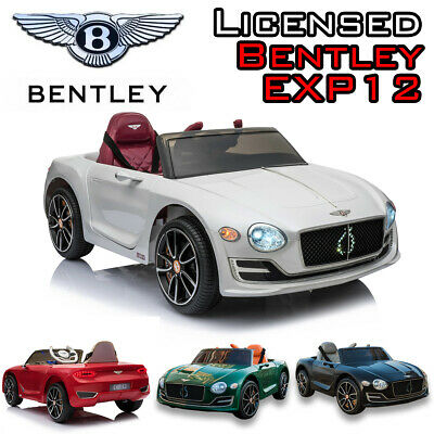 Kids Licensed Bentley EXP 12V Battery Electric Ride On Car Remote Leather Seat • 139.99£