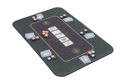 The Broadway Poker Mat In Green By Riverboat Gaming - 100x65cm (Poker Table Top) • 44.99£