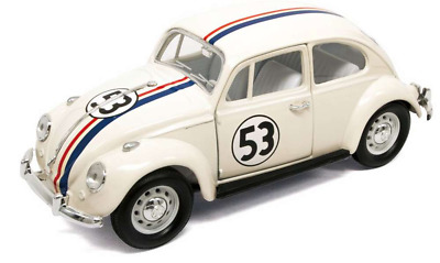 Lucky Diecast 24202H VW Beetle 1967 Herbie No 53 Car 1:24 Scale • 19.29£