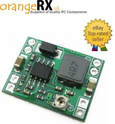 Mini DC-DC Converter Step Down Module Adjustable Power Supply - FPV Camera Power • 4.99£