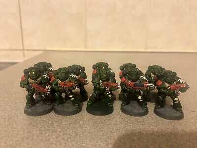 Pro Painted Dark Angels 10 Man Tactical Squad 2 • 40£