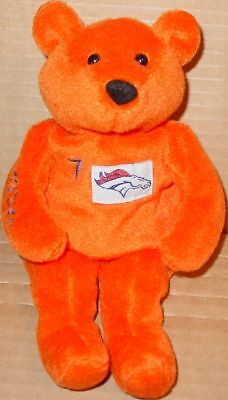 SALVINO'S Bammers JOHN ELWAY #07 PROMO Teddy BEAR + COA Football Promotion PLUSH • 6.11£