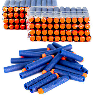 Bullets For Nerf Gun 100pcs Soft Refill Darts Round Head Blasters N-strike Toy • 3.99£