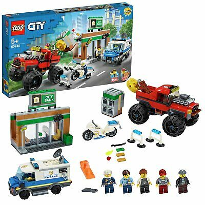 LEGO City Police Monster Truck Heist Building Set - 60245 • 45£
