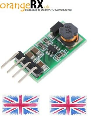 DC-DC 3.3V - 6V To 12V Output Step Up Booster Voltage Regulator Module OrangeRX • 6.99£