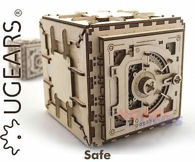SAFE Combination Box Wooden Mechanical Construction 3D Puzzle Kit UGears 70011 • 39.59£