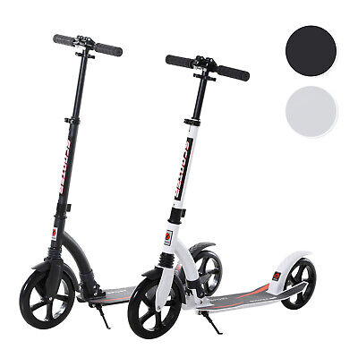 Teens Adult Kick Scooter Foldable Adjust Aluminum Ride On Toy For 14+ • 54.99£