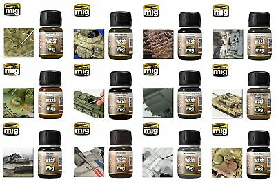 AMMO By Mig Jimenez Full Range Of Washes (Choose Your Wash) Weathering • 4.49£